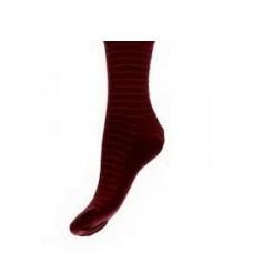 Бордовые мужские носки
