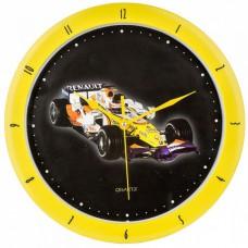 *Настенные часы - Машина Renault Formula-1