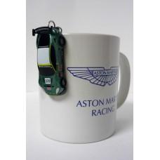 Подарочный набор: Кружка и Брелок Aston Martin