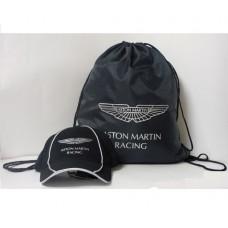 *Подарочный набор: Бейсболка и Мешок Aston Martin
