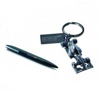 Подарочный набор: Ручка и Брелок  Mercedes Petronas