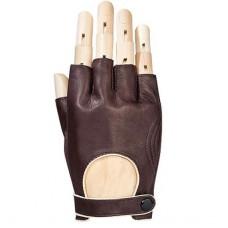 *Автоперчатки мужские кожаные (без пальцев)