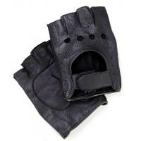 Кожаные автомобильные мужские перчатки Fioretto