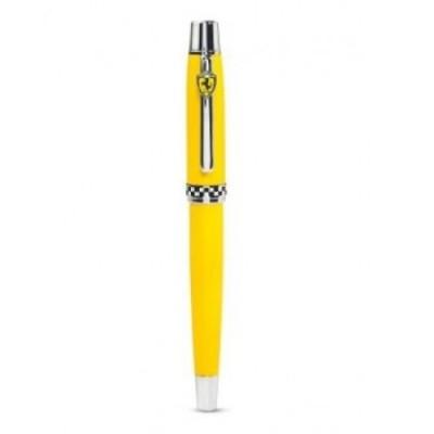 Элитная ручка Ferrari (роллер), жёлтый корпус