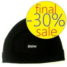 Модная зимняя мужская шапка BMW