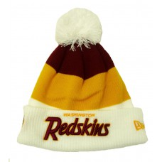 "*Зимняя мужская шапка с помпоном ""Washington Redskins"""