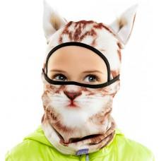 """Детская шапка - Балаклава """"Kitty"""""""