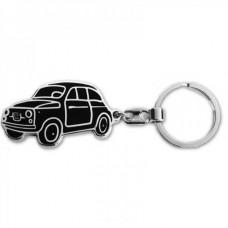 Брелок для ключей Автомобиль Fiat (чёрный)