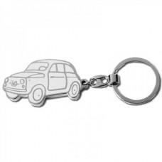 Брелок для ключей Автомобиль Fiat (белый)