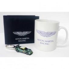 Подарочный набор (кружка, брелок и кошелек) Aston Martin