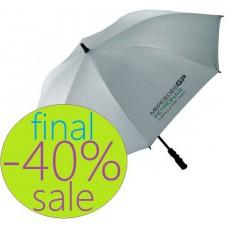 Большой зонт-трость Mersedes Petronas GP, серебристого цвета