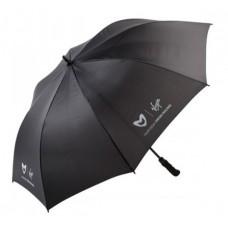 *Чёрный зонт-трость  Marussia Virgin