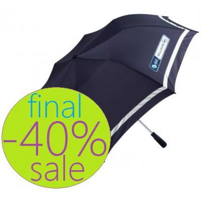 Синий складной зонт Williams at&t