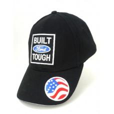 Чёрная кепка с логотипом Ford и американским флагом