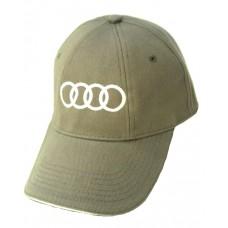 Серая бейсболка с логотипом Audi