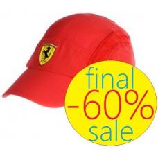 Красная бейсболка Ferrari Evoluzione Technic