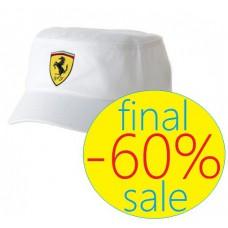"""Белая мужская кепка Ferrari """"Military"""""""