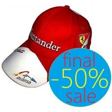Командная бейсболка Ferrari Santander