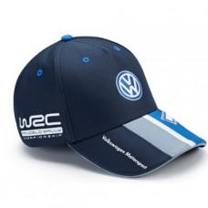 *Синяя командная бейсболка Volkswagen Motorsport
