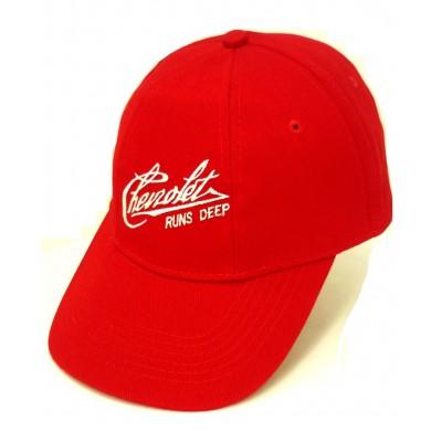 Красная кепка Chevrolet