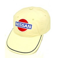 *Бежевая бейсболка Nissan