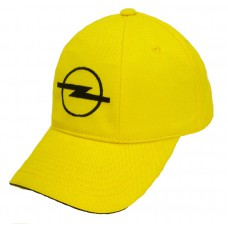 Желтая кепка Opel