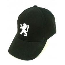 Черная мужская кепка Peugeot