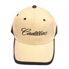 Бежевая бейсболка Cadillac