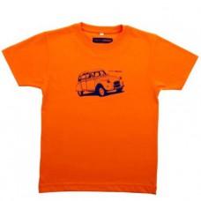 *Детская футболка Citroen Heritage оранжевого цвета