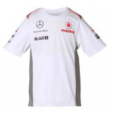 *Детская командная футболка VMM Team белого цвета