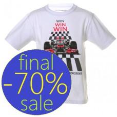 Детская футболка McLaren Mercedes с принтом Болид - Победитель