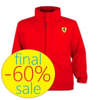Брендовая куртка Ferrari на весну для малыша