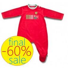Пижама Ferrari Baby Engine для новорожденного