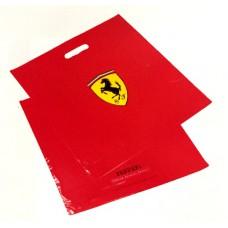 Фирменный пакет Ferrari, пластиковый (43х45 см)
