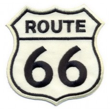 Легендарная нашивка на одежду - Дорога 66