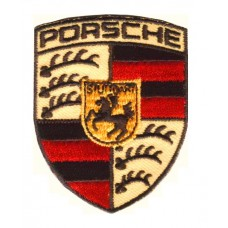 Нашивка на одежду от известного бренда Porsche