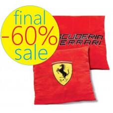 Декоративная красная подушка Ferrari 40 х 40 см