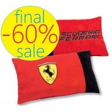 Декоративная красная подушка Ferrari 25 х 40 см