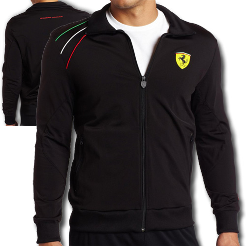 e3a435b8 ... Брендовый мужской спортивный костюм Scuderia Ferrari by PUMA ...