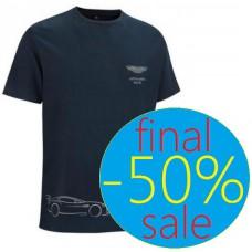 Брендовая мужская футболка GB Aston Martin Racing