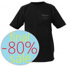 Чёрная мужская футболка Aston Martin Lifestyle