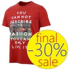 Модная мужская футболка Ferrari Passion