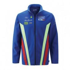 Мужская куртка ветровка Ford Softshell синяя