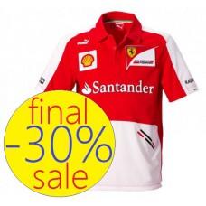 Командное мужское поло Santander Ferrari F1 Team