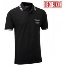 Мужская футболка поло Aston Martin большого размера