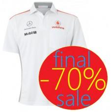 Спортивное мужское поло McLaren Mercedes TEAM