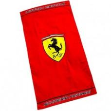 *Пляжное полотенце Ferrari  75 х 150 см с большим логотипом