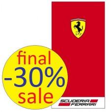 Пляжное полотенце Ferrari (70х140 см)