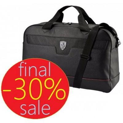 Чёрная спортивная сумка Ferrari Puma, на плечо