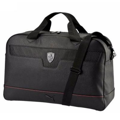 *Чёрная спортивная сумка Ferrari Puma, на плечо